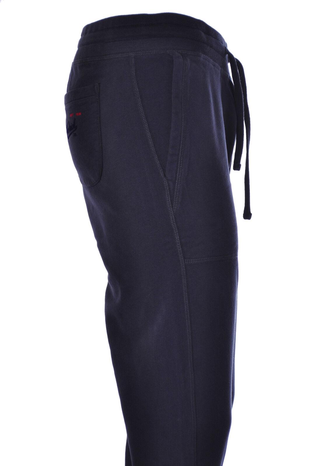 Woolrich - Pants, Trousers, sweatshirt - Man - bluee - 881118C183905