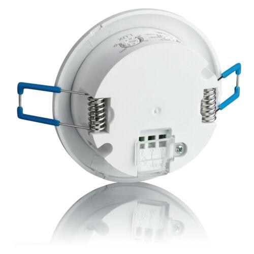 2x Bewegungssensor Unterputz Aufputz 360° Einbau Decken Montage IR Sensor SEBSON