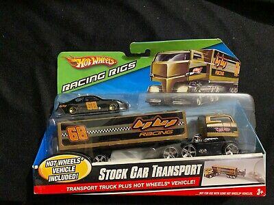 Hot Wheels SPEED FLEET Transport Truck Plus Hot Wheels Vehical.