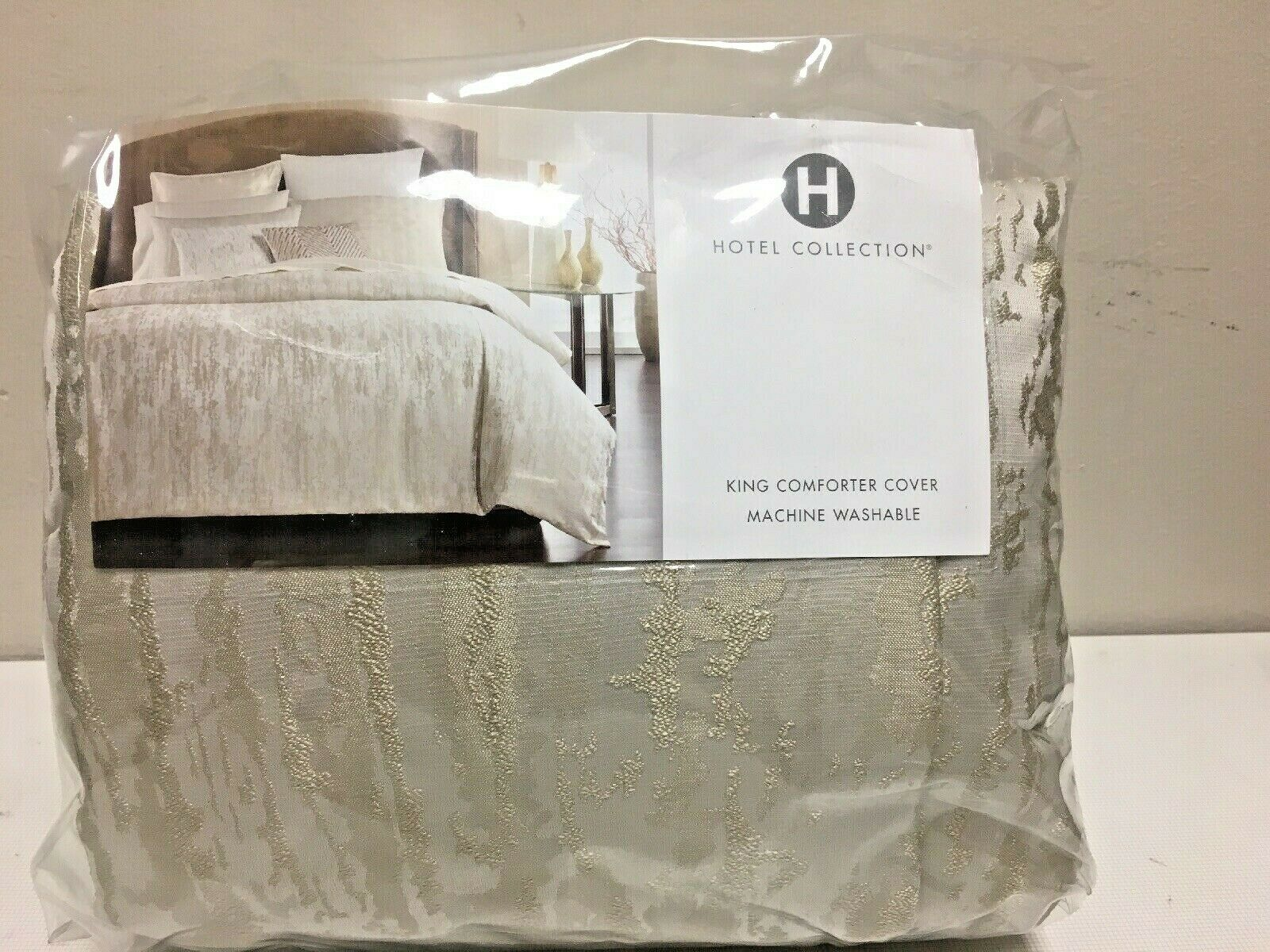HOTEL COLLECTION Comforter Cover, OPALESCENT, KING, NIP