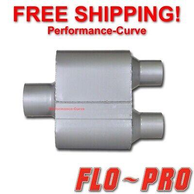 """Single Chamber Performance Race Muffler FLO-PRO 3/"""" V430122 2.25/"""""""