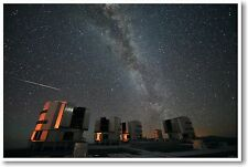Perseids Over The VLT - NEW Astronomy Science Poster