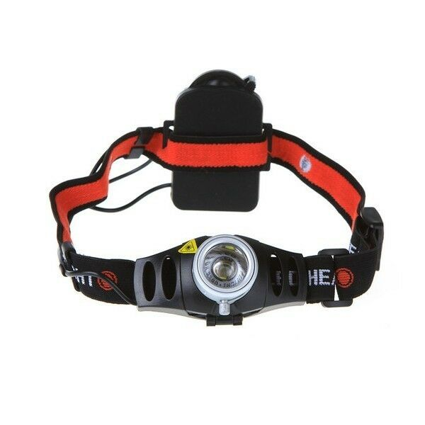500LM Ultra Bright CREE Q5 LED Headlamp Headlight Zoomable Head Torch High/Flash