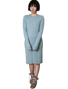 1bf23f89d1 RTBU Maternity Long Sleeve T Shirt Dress Wool Cotton Pastel Macaron ...