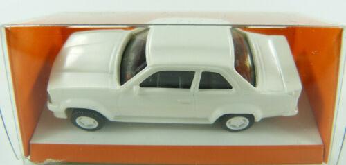 Opel Ascona 400 blanco neutral estando impresa euro modelo 1:87 OVP St