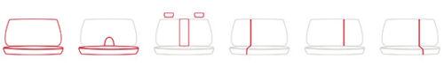 Mk7//AVENSIS Universal Cuero Eco-juego completo de fundas de asiento de coche Toyota Hilux Mk6