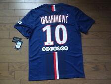 PSG Paris Saint Germain #10 Ibrahimovic 100% Original Jersey M 2014/15 BNWT NEW