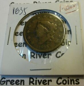 1835 Large Cent   #AA35