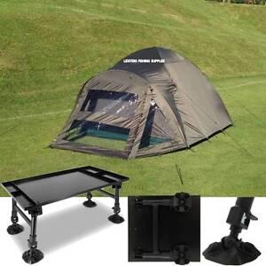 Image is loading 2-Man-Double-Skin-NGT-Carp-Fishing-Bivvy- & 2 Man Double Skin NGT Carp Fishing Bivvy Tent Shelter + NGT Giant ...