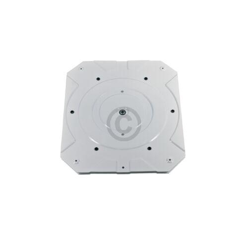 Drehteller Hailo 1907229 weiß Metall rechteckig für Abfallsammler-System
