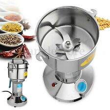 3000W 220V 1000g Electric Herb Grain Grinder Cereal Mill Flour Coffee Food Wheat