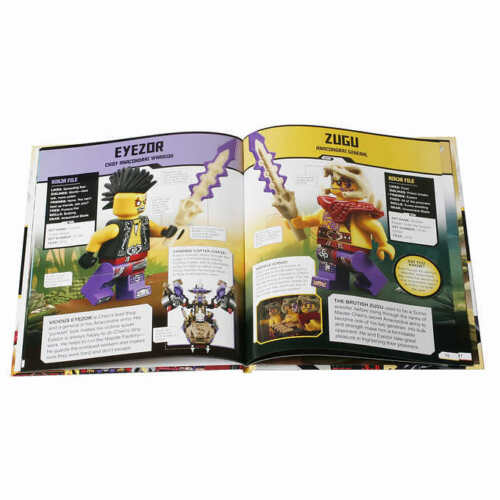 LEGO NINJAGO Collection 10 Book Box Set with Minifigure ** FREE SHIPPING **