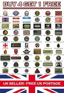 Rubber-Airsoft-Military-Tactical-PVC-Patch-Patches-Badge-Badges-Listing-2