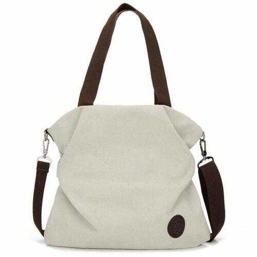 Corduroy Canvas Tote Ladies Casual Shoulder Bag Reusable Shopping Bags Beach