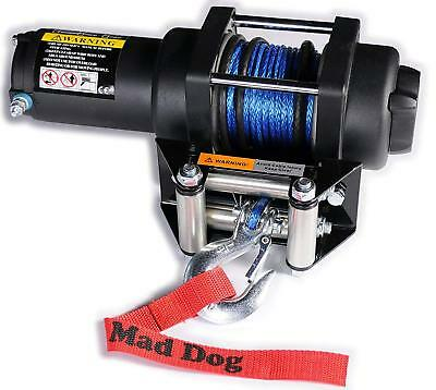 3500lb Mad Dog Winch Mount Combo Honda 2000-2007 TRX350 400 Rancher