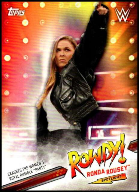 2019 Topps WWE Road to WrestleMania Ronda Rousey Spotlight Singles-Pick Ur Cards