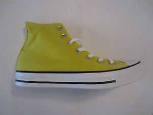 6f1f6bda54e2 NEW Converse Chuck Taylor All Star Hi 153859C Bitter Lemon yellow ...