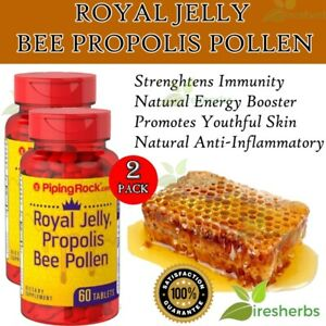 ROYAL JELLY PROPOLIS BEE POLLEN 700mg Immunity Weight Loss