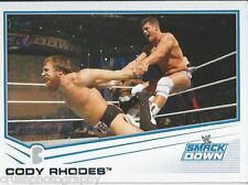 Cody Rhodes 2013 WWE Topps Triple Threat Trading Card #51 Smackdown