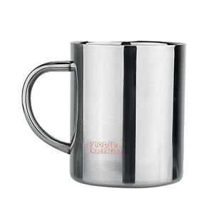 Double-Wall-Stainless-Steel-9OZ-Travel-Mug-Camping-Tumbler-Drinking-Coffee-Cup