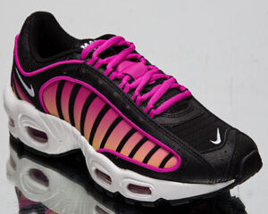 Nike Air Max Tailwind Iv Women S Black White Fire Pink Lifestyle Sneakers Shoes Ebay