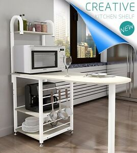 Image Is Loading Kitchen Dining Bar Table Shelf Cupboard Organizer Storage