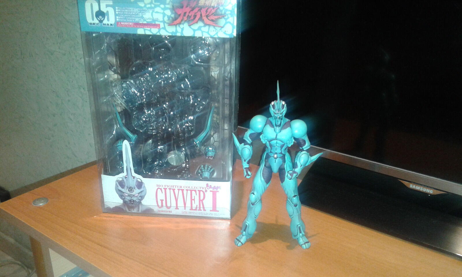 Guyver I  BiocombatienteCollection Max Factory BFC05