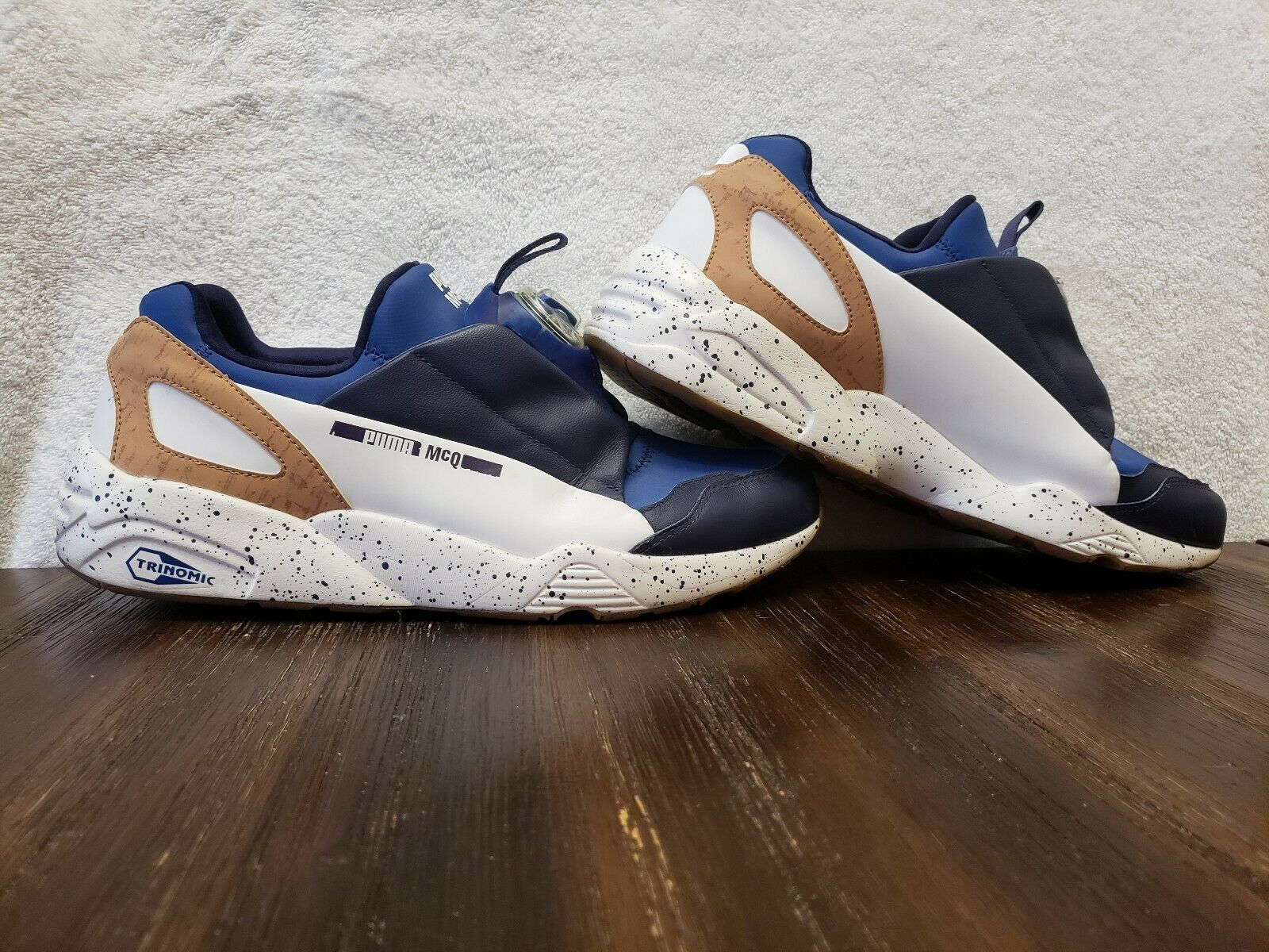 Puma Alexander McQueen Disc Running shoes bluee - Mens - Size 12 D