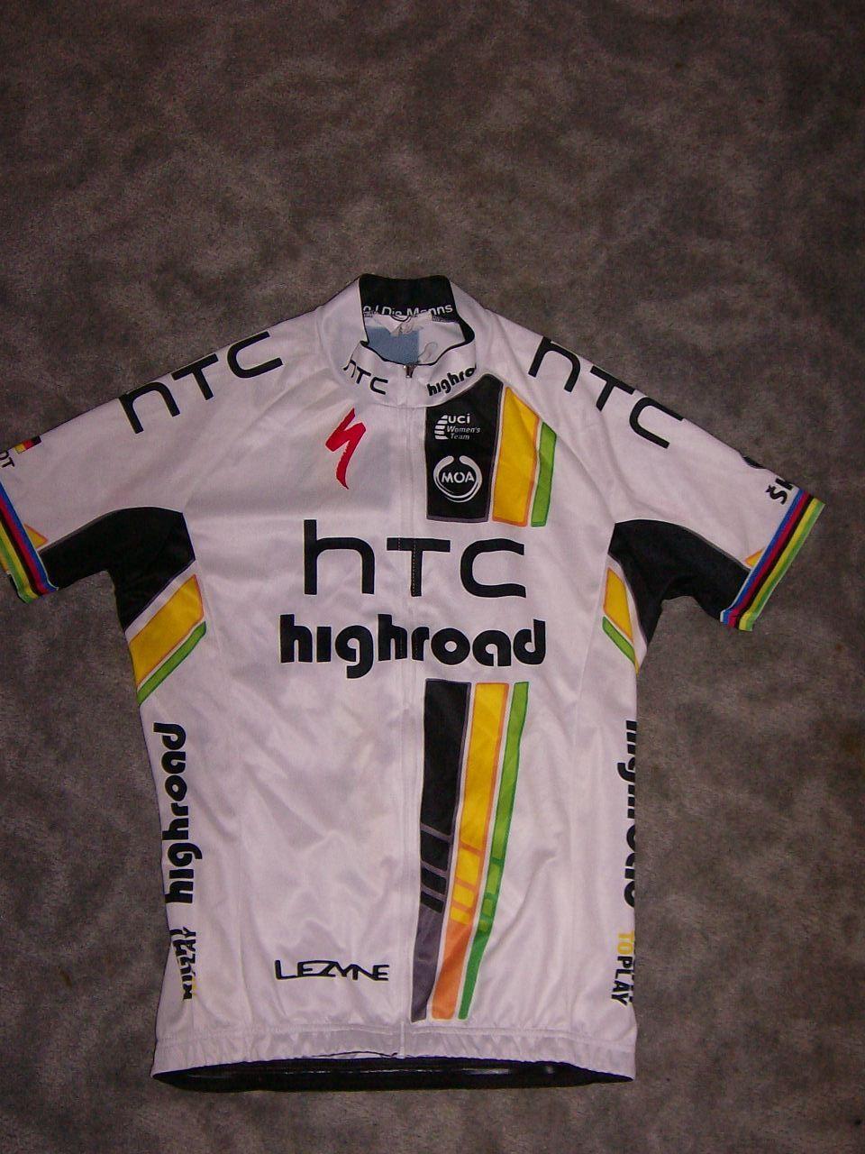 EX World Champ Team HTC Highroad Specialized Jersey / Trikot
