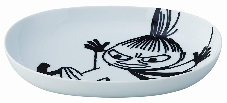 Moomin Bob Foundation 240mm Oval Dish Little My MM702-324 Yamaka from Japan