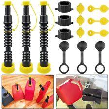 3set 10 Gas Can Replacement Spout Extension Flexible Gas Can Nozzle Fuel Diesel