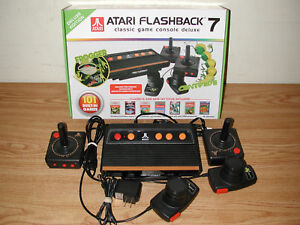 Atari Flashback 7 Deluxe Edition Classic Game Console With 101 Built