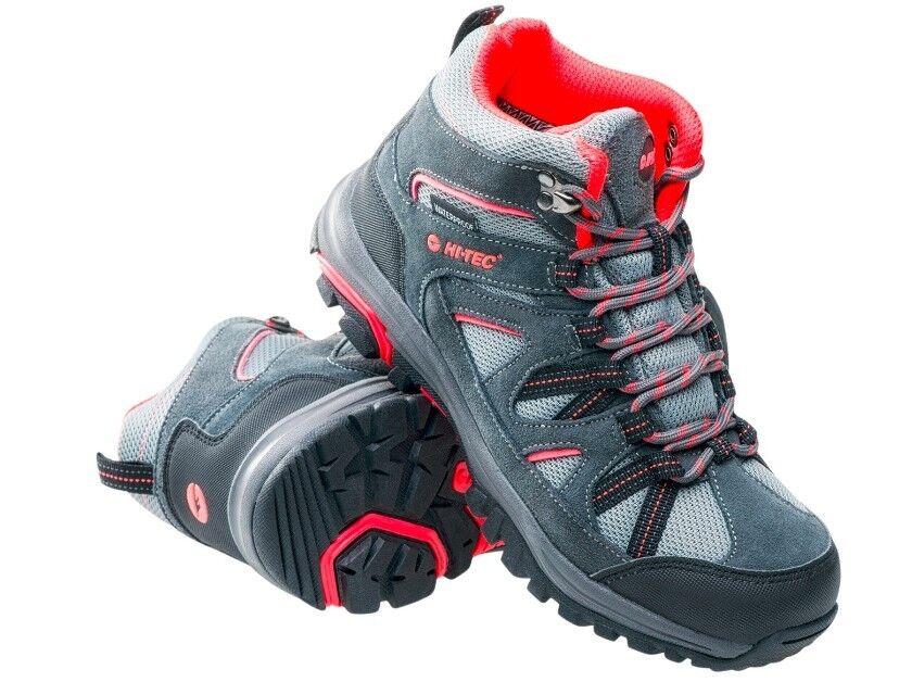 HI-Tec Raposo Scarponcini donna scarpe da trekking Scarpe Stivali Stivaletti WATERPROOF