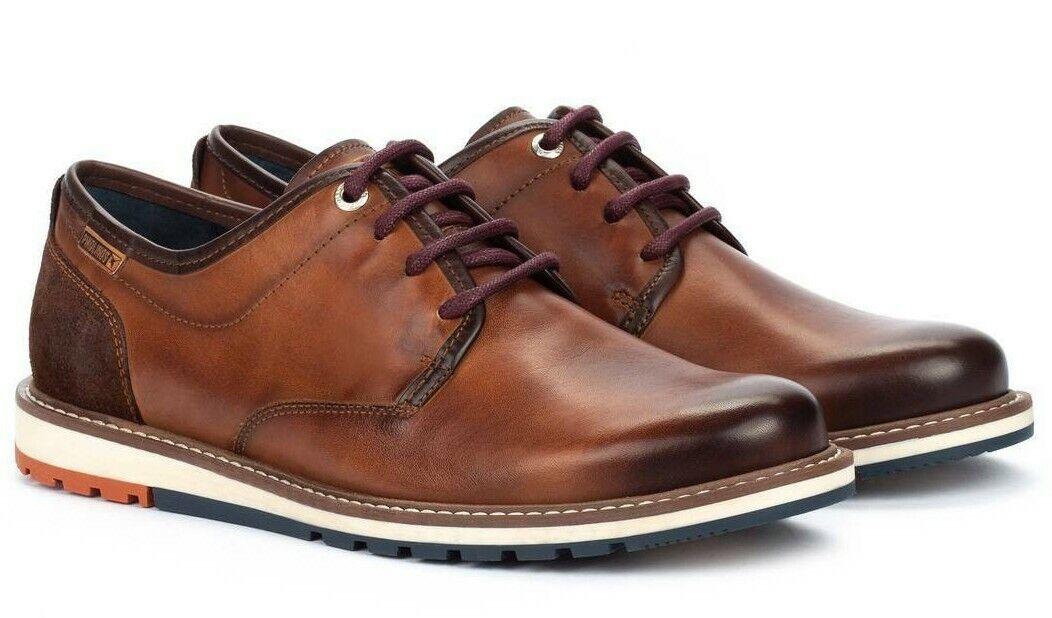 PIKOLINOS Männer Schuhe braun Avellana M8J-4236 schwarz Echtleder Wechselfußbett