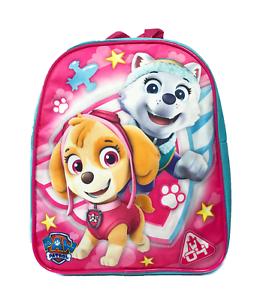 "NEW Paw Patrol Girl 10/"" Mini Backpack School Book Toddler Bag"
