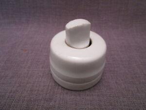 100% De Qualité Ancien Interrupteur Rotatif électrique En Porcelaine Remise En Ligne