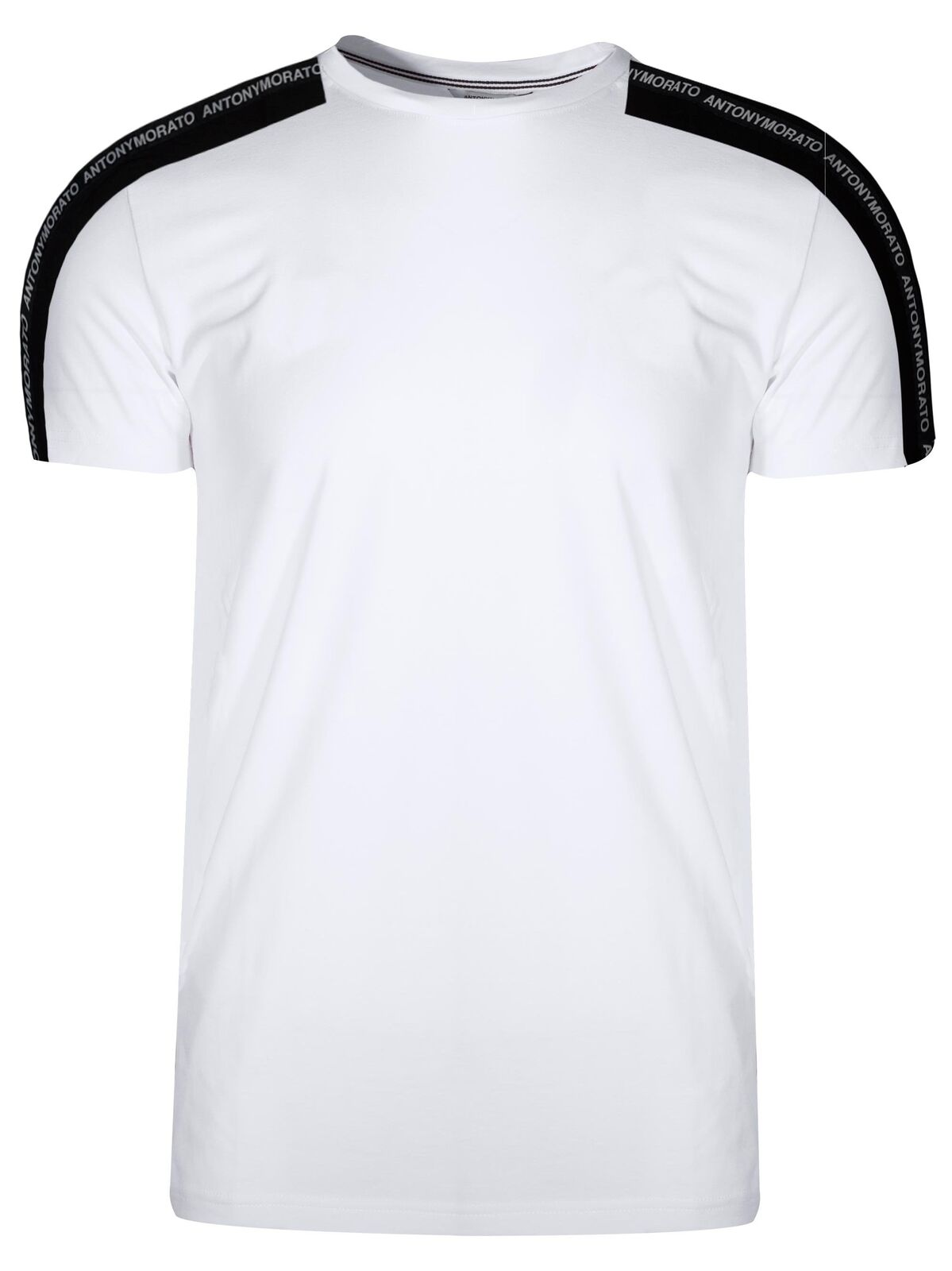 Antony Morato Sport Weiß Tape Arm Logo T-Shirt