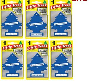 6-x-NEW-Car-Scent-Magic-Tree-Little-Trees-Car-Home-Air-Freshener-freshener
