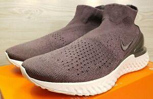 1d625c663158 Nike Rise React Flyknit Thunder Grey Off White Running AV5554-004 ...