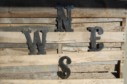 """W S 6/"""" N E Weather Vane Letters-Directional Letters-Compass Letters-F1004"""