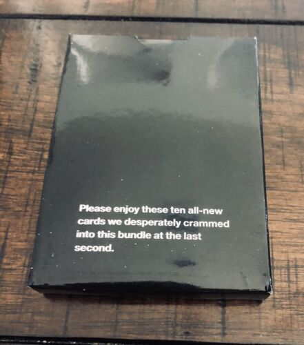 Bonus Mini Expansion Pack From Hidden Gems Bundle New Cards Against Humanity