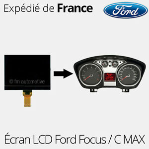 afficheur lcd cran centrale compteur ford focus c max lcd04 ebay. Black Bedroom Furniture Sets. Home Design Ideas