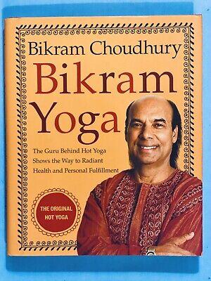 2007 bikram yoga bikram choudhury 4th printing