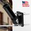 Adjustable-Black-Flag-Pole-Wall-Mounted-Bracket-1-039-039-Aluminum-flagpole-Rust-Free thumbnail 1