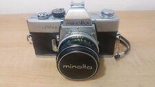 Vintage Minolta SRT 101 35mm SLR Film Camera