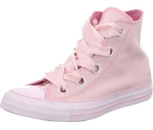 559917 Sneaker Hi Chucks Big Canvas Eyelets Converse Rose Leinen Schnür xBoCde