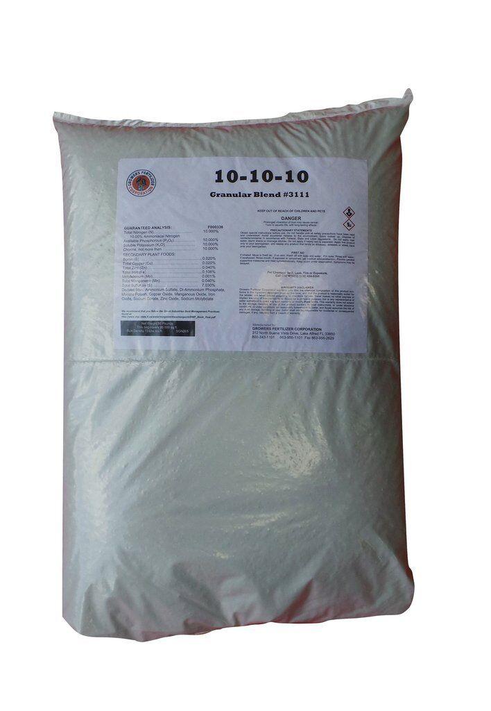 Growers 10-10-10 Multiuso Fertilizante - 22.5kg