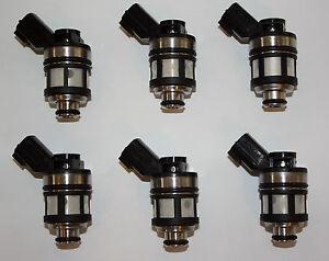 6-FUEL-INJECTORS-for-NISSAN-PATROL-GU-Y61-TB45E-4-5L-97-00-INJECTOR-4WD-TB45