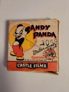 Andy Panda Walter Lantz home movie 8mm reel Castle film #473 Dizzy Kitty
