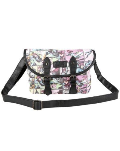 Marvel Black Widow Comic Collage Canvas Crossbody Bag Purse Handbag NWT!